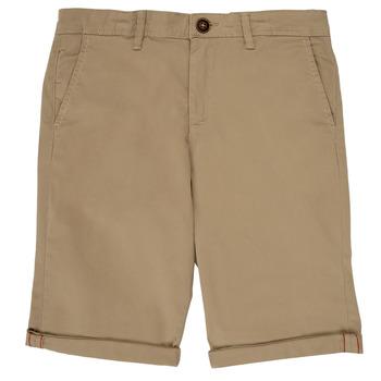 vaatteet Pojat Shortsit / Bermuda-shortsit Jack & Jones JJIBOWIE Beige