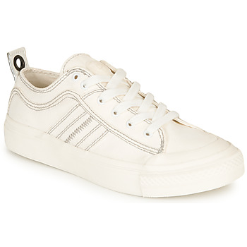 kengät Naiset Matalavartiset tennarit Diesel S-ASTICO LOW LACE W White