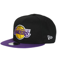 Asusteet / tarvikkeet Lippalakit New-Era NBA 9FIFTY LOS ANGELES LAKERS Musta / Violetti