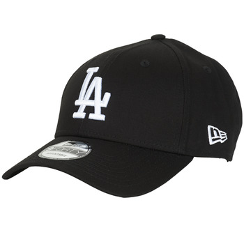 Asusteet / tarvikkeet Lippalakit New-Era LEAGUE ESSENTIAL 9FORTY LOS ANGELES DODGERS Black / White