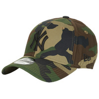 Asusteet / tarvikkeet Lippalakit New-Era LEAGUE ESSENTIAL 9FORTY NEW YORK YANKEES Camouflage / Kaki