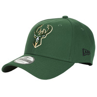 Asusteet / tarvikkeet Lippalakit New-Era NBA THE LEAGUE MILWAUKEE BUCKS Green