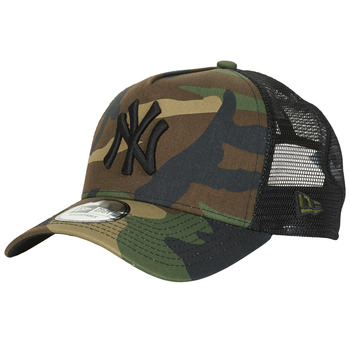 Asusteet / tarvikkeet Lippalakit New-Era CLEAN TRUCKER NEW YORK YANKEES Camouflage / Kaki