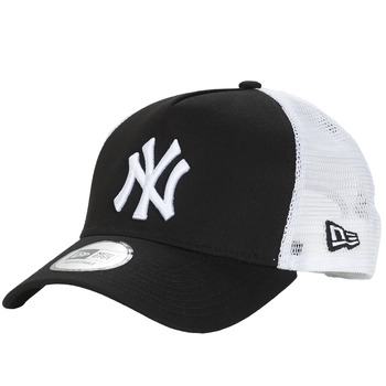 Asusteet / tarvikkeet Lippalakit New-Era CLEAN TRUCKER NEW YORK YANKEES Black / White