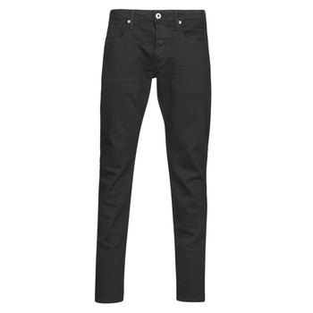 vaatteet Miehet Slim-farkut G-Star Raw 3301 Slim Pitch / Musta