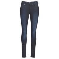 vaatteet Naiset Skinny-farkut G-Star Raw 3301 High Skinny Wmn Dk