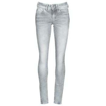 vaatteet Naiset Skinny-farkut G-Star Raw Lynn Mid Skinny Wmn Industrial / Harmaa