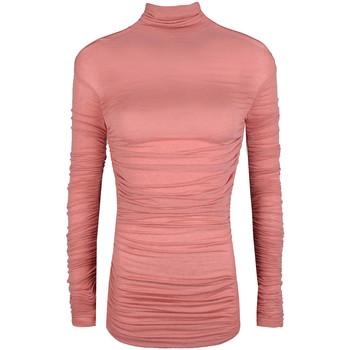 vaatteet Naiset Neulepusero Pinko  Vaaleanpunainen