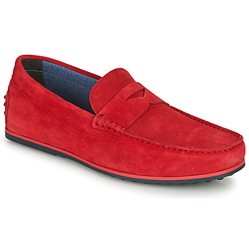 kengät Miehet Mokkasiinit André SKY Red