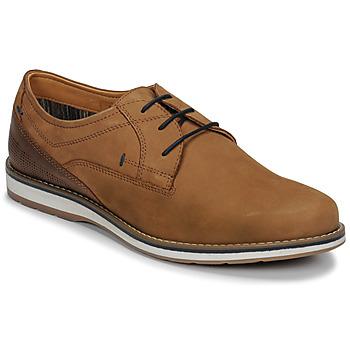 kengät Miehet Derby-kengät André LINOS Cognac