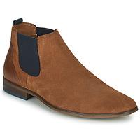 kengät Miehet Derby-kengät André WALOU Cognac