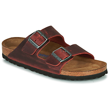 kengät Naiset Sandaalit Birkenstock ARIZONA SFB LEATHER Bordeaux