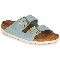 kengät Naiset Sandaalit Birkenstock ARIZONA SFB LEATHER Blue