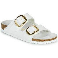 kengät Naiset Sandaalit Birkenstock ARIZONA BIG BUCKLE Valkoinen / Kulta