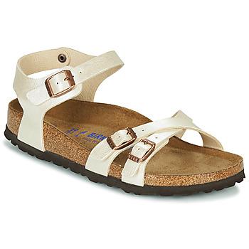 kengät Naiset Sandaalit ja avokkaat Birkenstock KUMBA SFB Beige