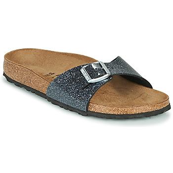 kengät Naiset Sandaalit Birkenstock MADRID Black / Hopea