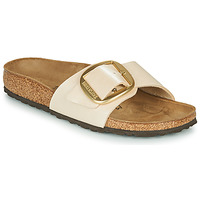 kengät Naiset Sandaalit Birkenstock MADRID BIG BUCKLE Pearl / Valkoinen