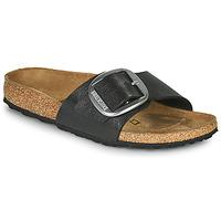 kengät Naiset Sandaalit Birkenstock MADRID BIG BUCKLE Grey / Fonce