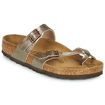 kengät Naiset Sandaalit Birkenstock MAYARI Bronze