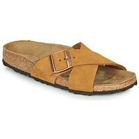 kengät Naiset Sandaalit Birkenstock SIENA LEATHER Camel