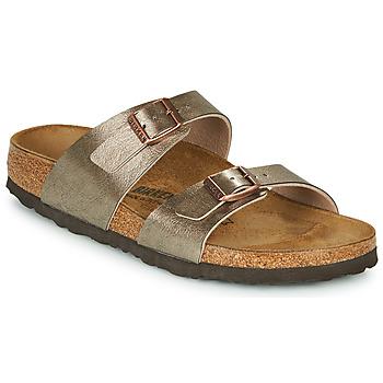 kengät Naiset Sandaalit Birkenstock SYDNEY Bronze