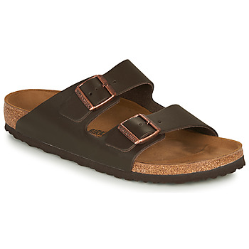 kengät Miehet Sandaalit Birkenstock ARIZONA LEATHER Ruskea