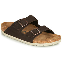 kengät Miehet Sandaalit Birkenstock ARIZONA LEATHER Brown
