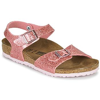 kengät Tytöt Sandaalit ja avokkaat Birkenstock RIO PLAIN Cosmic / Pink