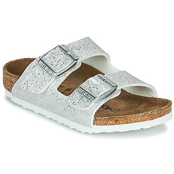 kengät Tytöt Sandaalit Birkenstock ARIZONA Cosmic / Valkoinen