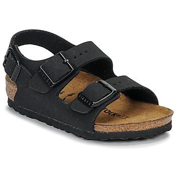 kengät Pojat Sandaalit ja avokkaat Birkenstock MILANO Musta