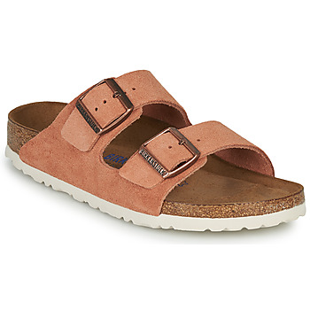 kengät Naiset Sandaalit Birkenstock ARIZONA SFB LEATHER Orange