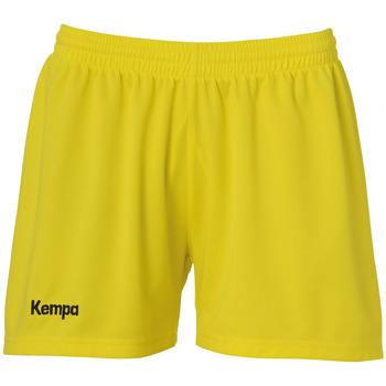 vaatteet Naiset Shortsit / Bermuda-shortsit Kempa Short femme  Classic jaune citron