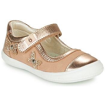kengät Tytöt Balleriinat André ORIANNE Vaaleanpunainen