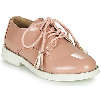kengät Tytöt Derby-kengät André ROSINE Pink
