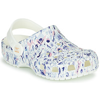 kengät Naiset Puukengät Crocs LIBERTY LONDON X CLASSIC LIBERTY GRAPHIC CLOG K White