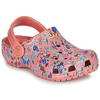 kengät Naiset Puukengät Crocs LIBERTY LONDON X CLASSIC LIBERTY GRAPHIC CLOG K Pink