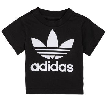 vaatteet Lapset Lyhythihainen t-paita adidas Originals MARGOT Black