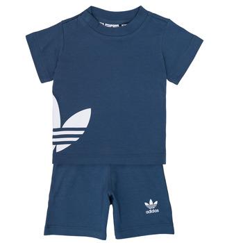 vaatteet Pojat kokonaisuus adidas Originals CYLIA Blue