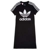vaatteet Tytöt Lyhyt mekko adidas Originals SALOME Black
