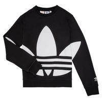 vaatteet Lapset Svetari adidas Originals BRIGDA Black