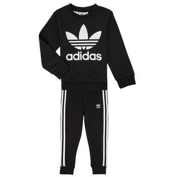 vaatteet Lapset Kokonaisuus adidas Originals LOKI Musta