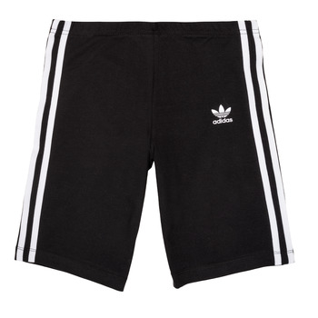 vaatteet Tytöt Shortsit / Bermuda-shortsit adidas Originals EDDY Black