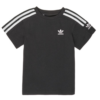 vaatteet Pojat Lyhythihainen t-paita adidas Originals MINACHE Black