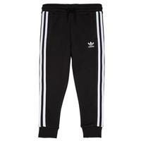 vaatteet Lapset Verryttelyhousut adidas Originals LOOAI Black