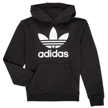 vaatteet Lapset Svetari adidas Originals ZACK Black
