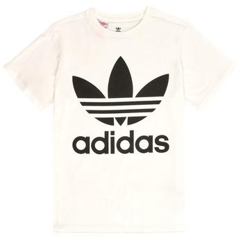 vaatteet Lapset Lyhythihainen t-paita adidas Originals SARAH White