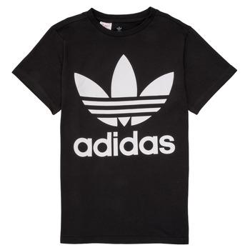 vaatteet Lapset Lyhythihainen t-paita adidas Originals MAXENCE Musta