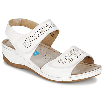 kengät Naiset Sandaalit ja avokkaat Damart MILANA Valkoinen
