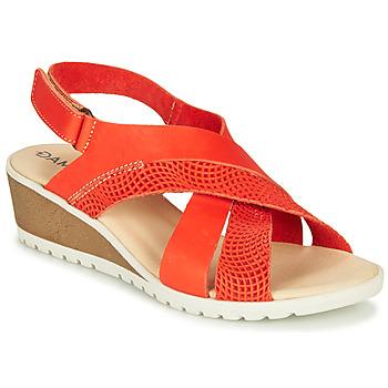 kengät Naiset Sandaalit ja avokkaat Damart MAYLO Vaalea beige / kulta
