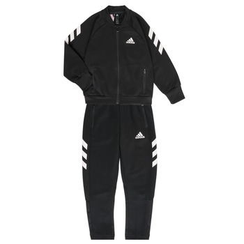 vaatteet Pojat Verryttelypuvut adidas Performance MARKEL Black